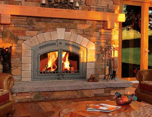 Indoor Fireplaces - Fireplaces Traverse City - Custom Design - Heating